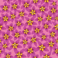 Floral seamless pattern. Flower background. Floral seamless texture with flowers. Flourish tiled wallpaper vector