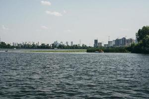 Cityscape from the water photo