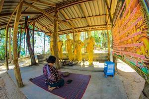 Sakon Nakhon, Thailand 2016- Phra That Phupek temple photo