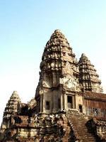 Camboya 2010- templo de piedra de angkor wat foto