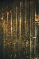Dark wooden background photo
