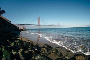 Golden Gate ocean view