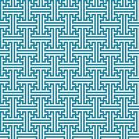 Seamless oriental pattern. Repeated interlocking keys background. vector