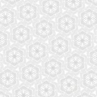 patrón de mandala sobre un fondo blanco vector