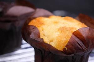 Close up of a muffin photo