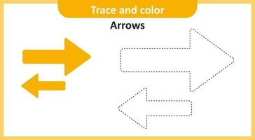 Trace and Color Arrows