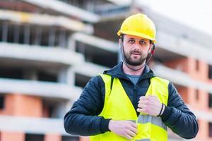 Building construction worker engineer