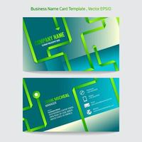 template business name card vector