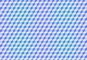 Seamless pattern vector cube art, abstract illustration