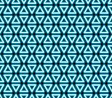 patrón sin costuras con triángulos de neón, arte lineal