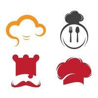 imagenes de chef logo vector