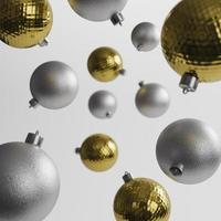 concepto de adornos navideños foto