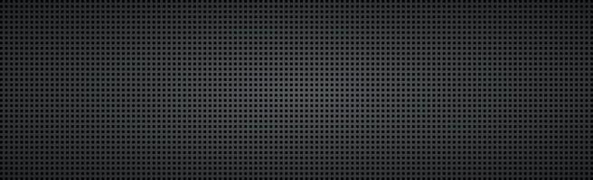 Black perforated background with black holes and glow vector