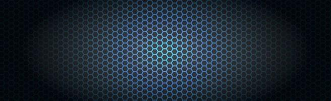 Blue perforated iron with white reflections vector