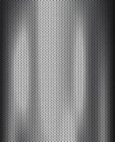 Perforated iron in silver with white reflections vector