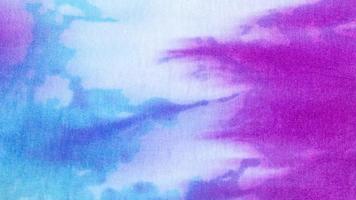 Tie dye fabric texture background photo