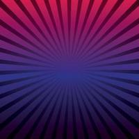 Fondo panorámico abstracto rayos del sol alrededor vector