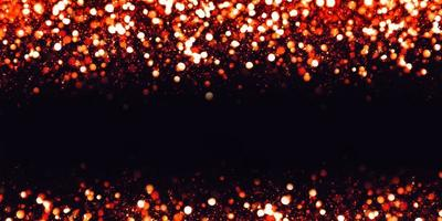Reflective bokeh effect glitter and luxury texture dust particles, 3d illustration photo