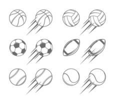 Sport Balls Illustrations vector