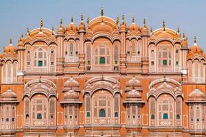 Hawa Mahal on a sunny day, Jaipur, Rajasthan, India