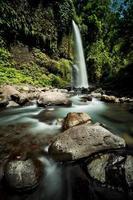 Sendang Gile waterfall on Lombok, Indonesia
