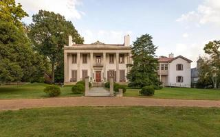 200 year old Mansion at Belle Meade Plantation - wide view