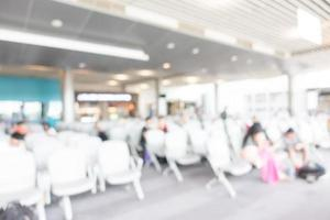 Abstract blur airport