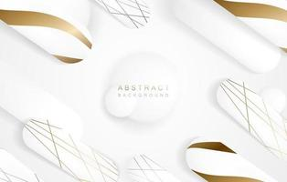 Abstract geometric background. Fluid shape and elements design for advertise and banner. vector