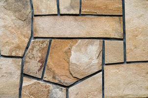 Brown stone tile photo