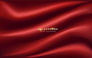 Smooth cloth background. Premium elegant background. vector