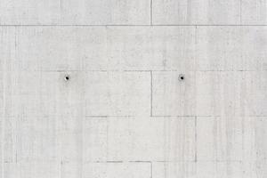 Muro de fondo de hormigón creado a partir de un telón de fondo de construcción de encofrado foto
