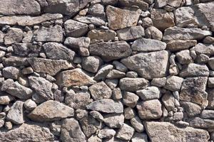 Antique stone wall background texture photo