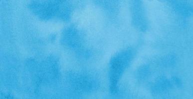 pintura de acuarela de cielo azul brillante. foto