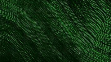 agitando la línea de velocidad en el fondo de tecnología microchip vector