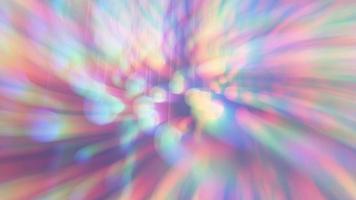 abstrait avec des lanternes et un dégradé arc-en-ciel video