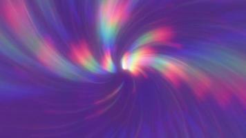 abstrakter lila Hintergrund mit Regenbogenstrahlen