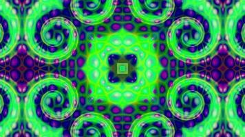 fundo de caleidoscópio de textura abstrato roxo-verde