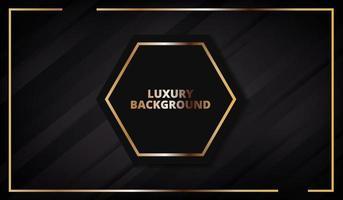Luxury black background texture. Vector illustration