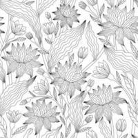 fondo blanco con color lineal negro ondulado