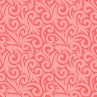 Coral seamless background with large elements vector