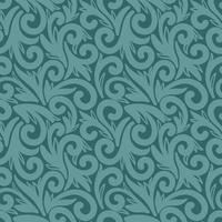 Emerald seamless background with large elements vector