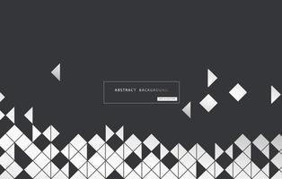 fondo geométrico abstracto. vector