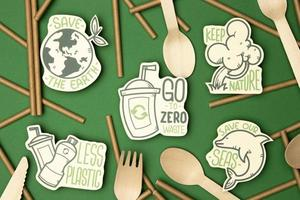 Eco friendly recycling concept photo
