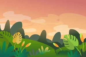 Spring background or banner design with lovely element. EPS10 vector illustration.