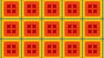 fundo de formas geométricas de movimento abstrato video