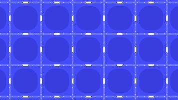 estilo retro de padrões de geometria de movimento abstrato