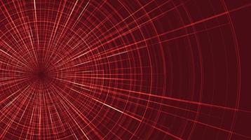 Red Hyperspace speed motion background vector