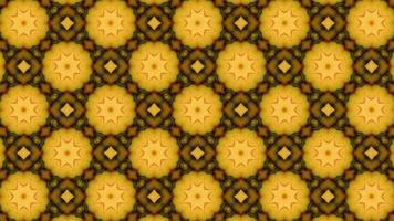Fondo animado inconsútil del modelo geométrico video