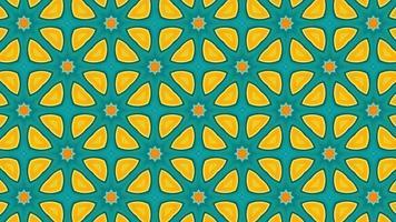 padrão geométrico de fundo animado