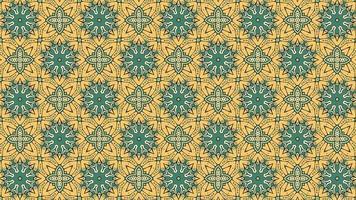 mehrfarbiges geometrisches Formmuster im Retro